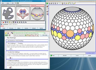 Stephenson: CirclePack screenshot